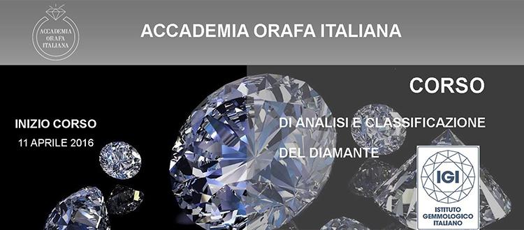 Corso sul diamante