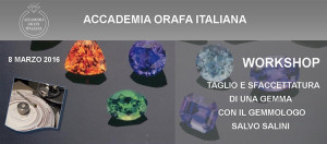 workshop taglio delle gemme