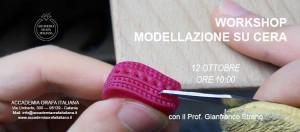 Workshop modellazione su cera