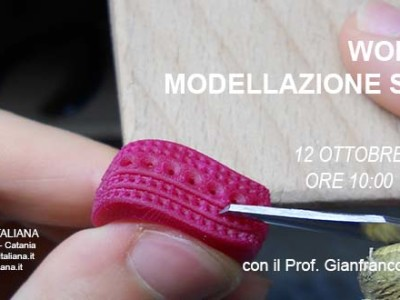Workshop modellazione su cera