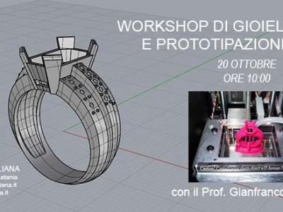 Workshop gioielleria 3d