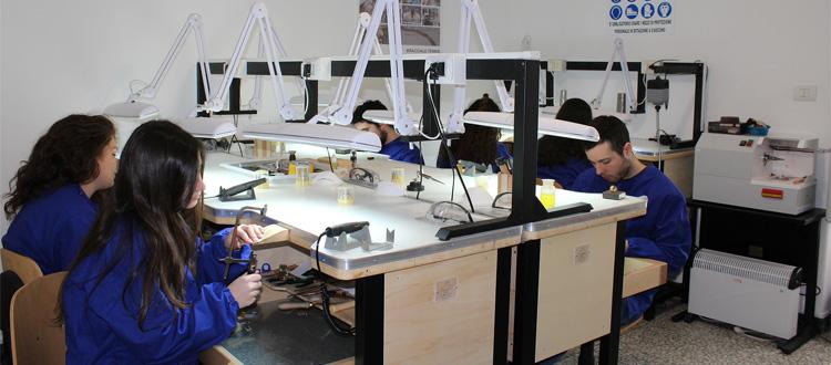 laboratorio Accademia Orafa Italiana